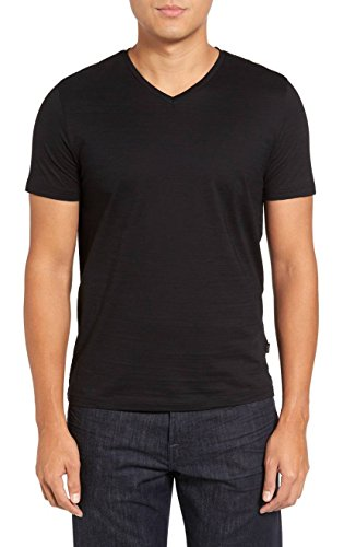 Photo of Hugo Boss Men's Tilson Short Sleeve V-Neck T-Shirt, Black, XXXL