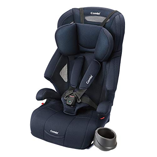 Combi Seatbelt Fixed Child & Junior Seat, Ages 1 to 11, Joytrip Air Through GH Navy Breathable Air-Through Model