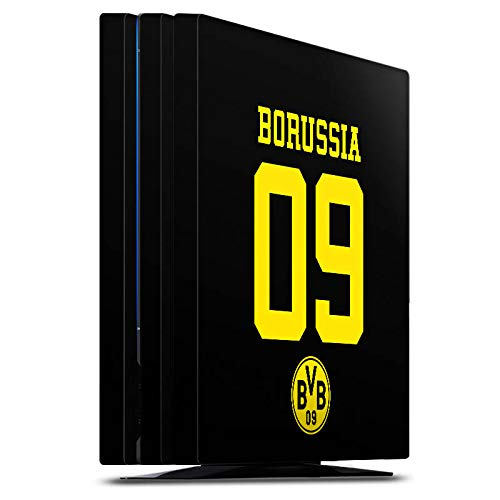 DeinDesign Skin kompatibel mit Sony Playstation 4 PS4 Pro Folie Sticker Borussia Dortmund BVB Trikot