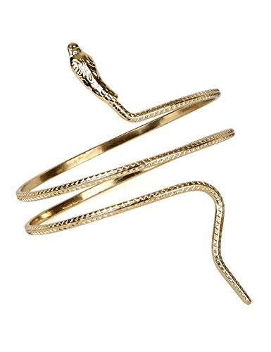 Smiffy's Bracelet égyptien, or, motif serpent