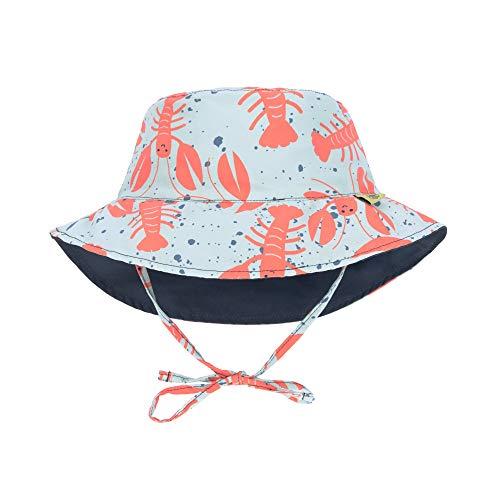 LÄSSIG Unisex Baby Sonnenhut Überwurf für Schwimmbekleidung, Multicolor, L