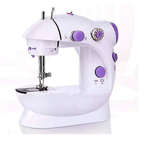 Mini Sewing Machine, Double Speed Portable Electric Sewing Machine With...