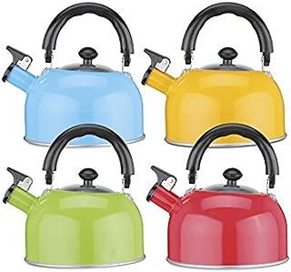 Fischio bollitore 2.7 L stovetop Induzione Gas//// Grigio