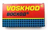 5 cuchillas de afeitar Voskhod Teflon Coated (1 paquete)