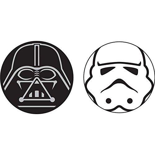 Disney Star Wars Antenne und Bleistift Topper, Unisex-Erwachsene, Star Wars Darth Vader Storm Troope, Einheitsgröße