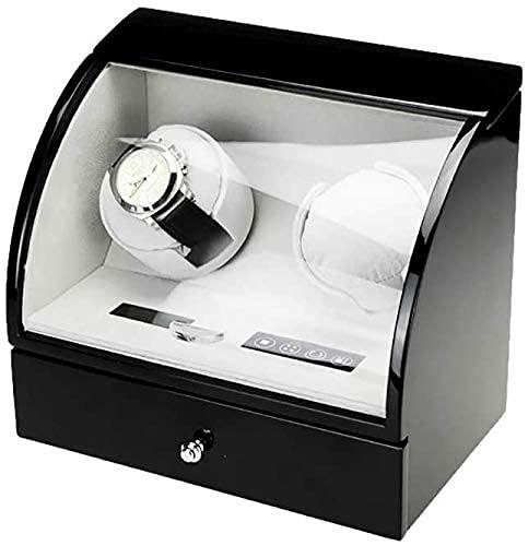 Caja de Reloj Caja de Almacenamiento de Relojes Caja de Madera automática para Guardar Relojes y Cajas de Almacenamiento de Relojes con Pantalla LCD