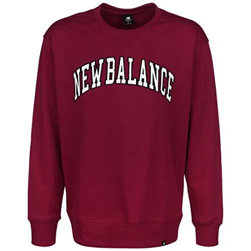 New Balance Athletics Varsity Pack Crew Sweatshirt Herren dunkelrot, XL