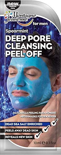 Montagne Jeunesse Peel-Off Men's Deep Pore Cleansing - Mascarilla  - 10 ml