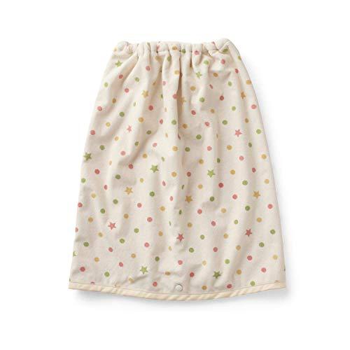 [ベルメゾン] おねしょケット スカート 浸みにくい ケット おねしょ対策 ドット×星 大