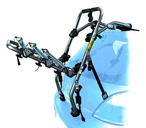 PROPOSTEONLINE Portabici Auto Posteriore Realizzato per Ford C-Max (2010-2014) Porta 3 Bici Set con Ganci Fibbie e Cinghie