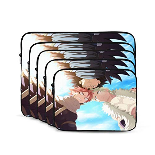 Fairy Tail Anime Cartoon Laptop Sleeve Case Shockproof Oxford Protective Case/Notebook Computer Pocket Case/Tablet Carrying Bag Compatible. 12 Inch