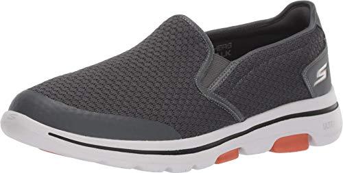 Skechers Herren Go Walk 5 Apprize Slip On Sneaker, Grau (Charcoal), 7.5 UK (42 EU)