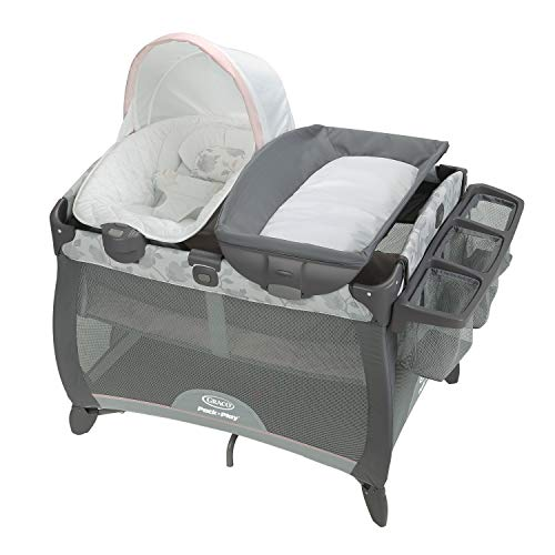 Graco Pack 'n Play Playard Quick Connect Portable Seat Deluxe, Diana