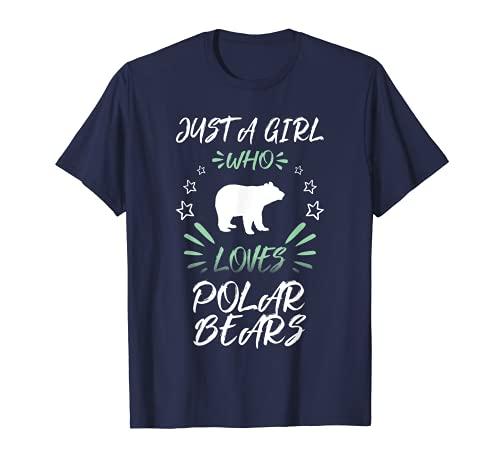 Sólo una chica que ama a los osos polares Camiseta