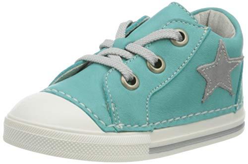 Däumling Unisex Baby Esther Sneaker, Blau (Fortuna Caribe 51), 22 EU