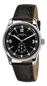 Revue Thommen Men's 15001.253699999999 Sport 50s Analog Display Swiss Automatic Black Watch