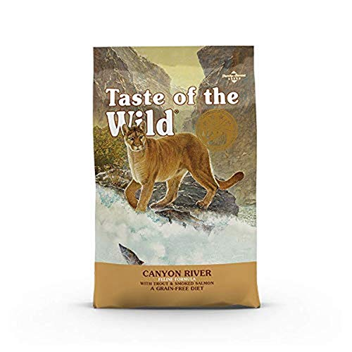 Taste Of The Wild pienso para gatos con Trucha y Salmon ahumado 6,6kg Canyon River ⭐