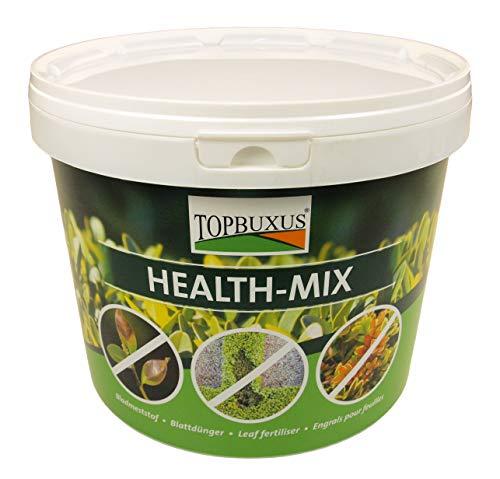 TOPBUXUS Health-Mix, Stoppt und vorbeugt Buchsbaumpilz, 2kg für 1000m2, mach es wie der Züchter!