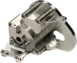 Integy RC Model Hop-ups T7983SILVER Alloy Gearbox Housing for Traxxas 1/10 Stampede 2WD, Rustler 2WD & Bandit XL5