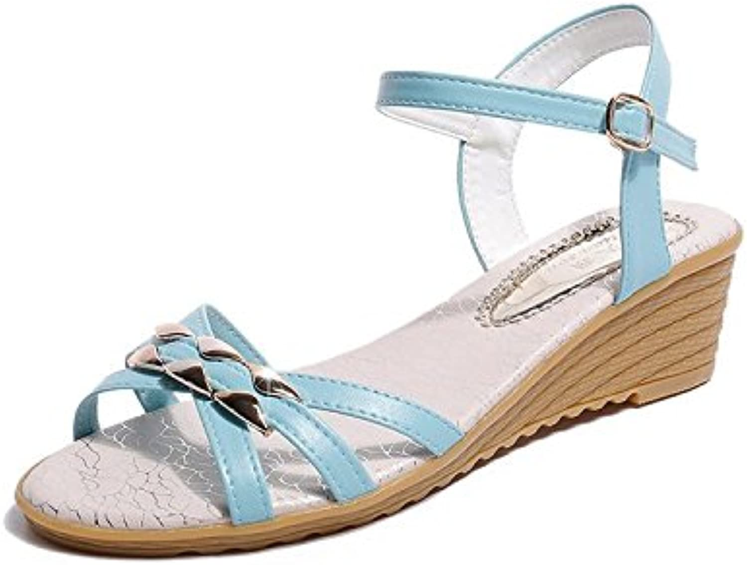 Summer Ladies' Sandals, Sandals, Slit, Low Toe and Low Casual Women's shoes.