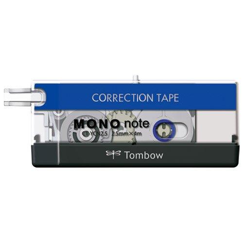 トンボ鉛筆 修正テープモノノート CT-YCN2.5 【10個セット】
