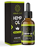 Hemp Oil Drops 15% 4500mg 30ml...