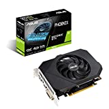 ASUS Phoenix NVIDIA GeForce GTX 1650 OC Edition Gaming Graphics Card (PCIe 3.0, 4GB GDDR6 Memory, HDMI, DisplayPort, DVI-D, Axial-tech Fan Design)