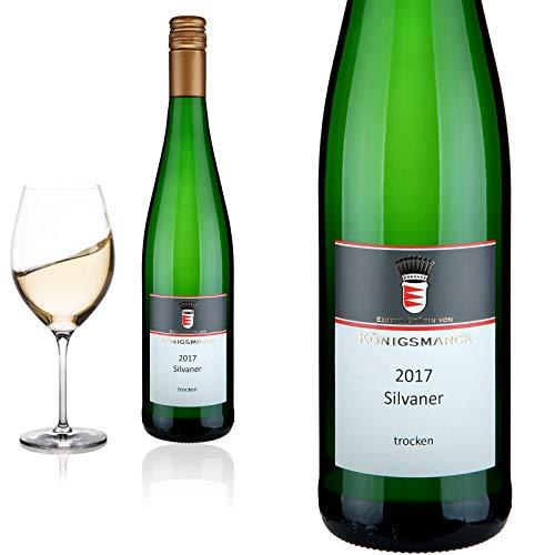 2017 Silvaner - trocken BIO-Wein Oppenheimer Güdenmorgen Königsmarck - Weißwein,