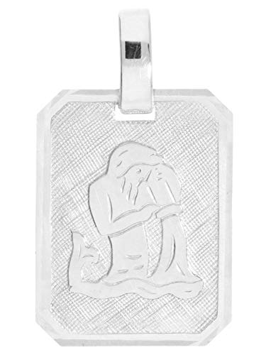 MyGold Sternzeichen Anhänger Wassermann (Ohne Kette) Sterlingsilber 925 Silber 21mm x 12mm Tierkreiszeichen Horoskop Silberanhänger Gaudino A-03303-S923-Was