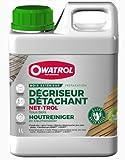 OWATROL – NET-TROL – 1 L – Holzentgrauungs- und -entfettungsmittel für alle Holzarten im...