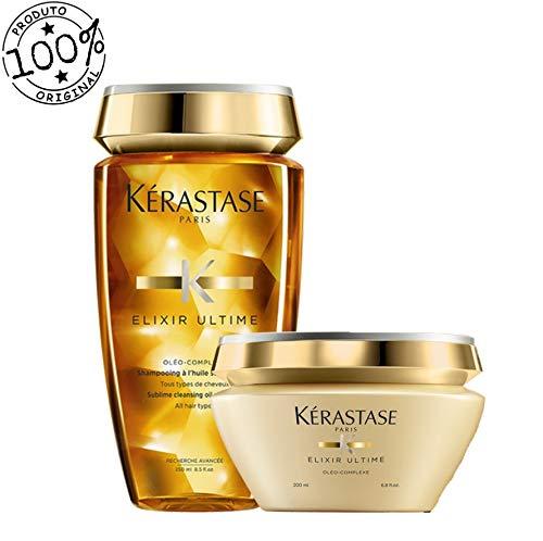 Kit Kérastase Elixir Ultime Shampoo + Máscara