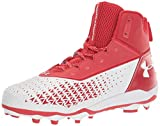 Under Armour mens Hammer Mc Football Shoe, Red (600 White, 12.5 US