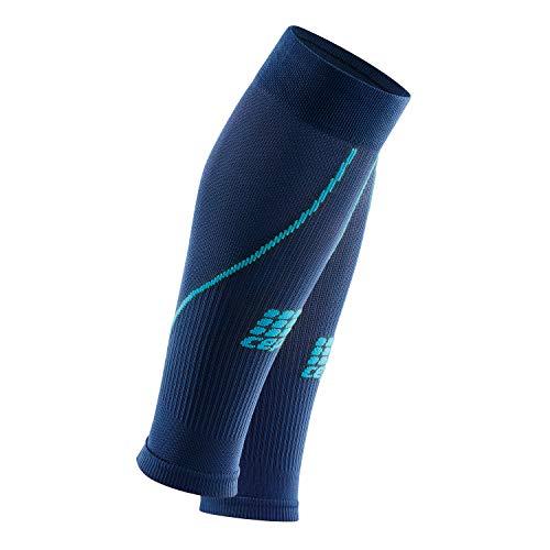 CEP – Calf Sleeve 2.0 für Damen   Beinstulpen für exakte Wadenkompression in dunkelblau/blau   Größe III