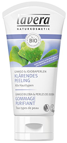 lavera Gommage Purifiant - Vegan - Cosmétiques naturels - Ingrédients végétaux bio - 100% naturel 50 ml
