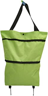 # 7306 multifunci/ón Toomett Bolsa de la compra plegable con ruedas bolsa plegable sobre ruedas para mujer reutilizable bolsa de viaje de compras bolsa de viaje de alta resistencia