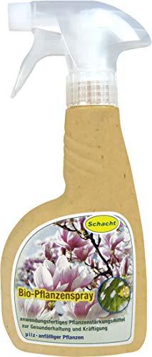 Schacht Bio-Pflanzenspray pilz-anfällige Pflanzen, 500 ml Pumpsprüher, zur allgemeinen Gesunderhaltung pilz-anfälliger Pflanzen.