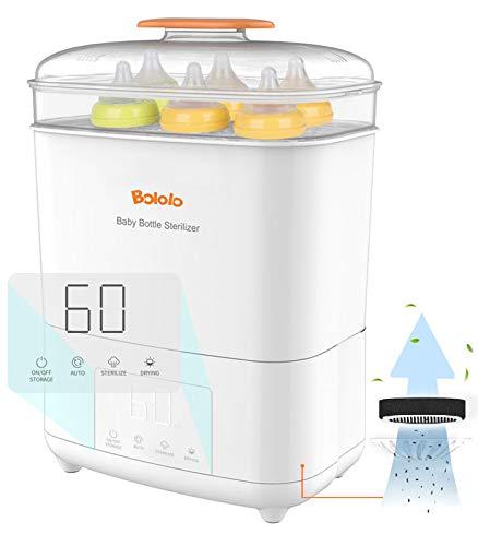 Esterilizador y secador de vapor eléctrico para biberones Bololo Imagen del producto