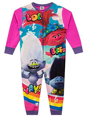 TROLLS Pijama Entera para niñas Poppy Multicolor 9-10 Años