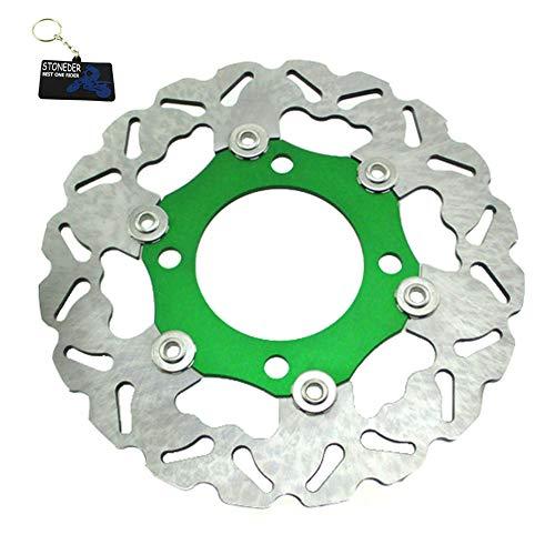 Stoneder Grün 220mm Floating Bremsscheibe Rotor Für SDG Rad 50 160cc Chinesischen Dirt Bike
