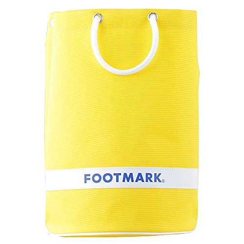 フットマーク(Footmark) スイミングバッグ 学校体育 水泳授業 スイミングスクール ラウンド2 男女兼用 02(イエロー) 101481 One Size