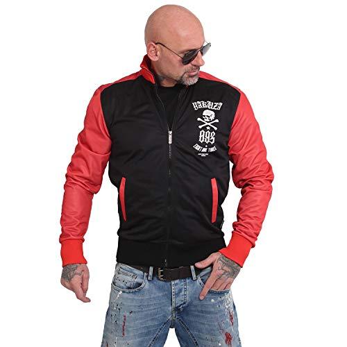 Yakuza Herren Irony Trainingsjacke Zipper