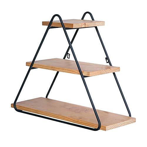 3 Tier Driehoek Zwevende Planken Metalen Opslagplanken Zwevende Wandplank Met Hoge Capaciteit Voor Slaapkamer Woonkamer Badkamer Keuken