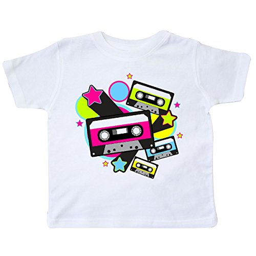 Colorful 80s Cassettes Tee for Toddlers, All Sizes