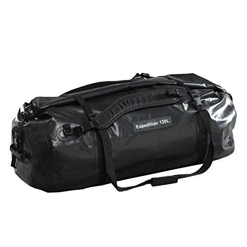 CARIBEE Travel Expedition Duffle Bag Water Density 90 mm 120 Litre Black 105809