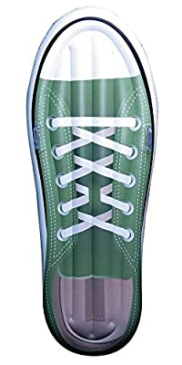 """Jet Creations Inflatable Tennis Shoe sneaker Design Pool Floatie Ridable Blow Up Summer Beach Swimming Pool Party Lounge Raft Decorations Toys Kids Adults 72"""" FUN-SNEAKER01"""