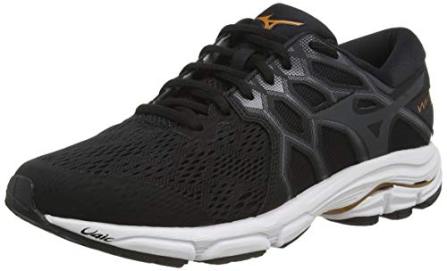 Mizuno Wave Equate 4, Scarpe Running Uomo, Nero (Blk/Shadow/10135 C 51), 42 EU