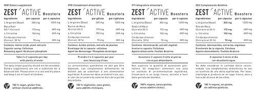 L-Arginin plus Maca von Zestonics - 5