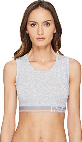 Emporio Armani Underwear Damen 1638627P217 Sporttop, Grau (Grigio Melange 00048), Medium