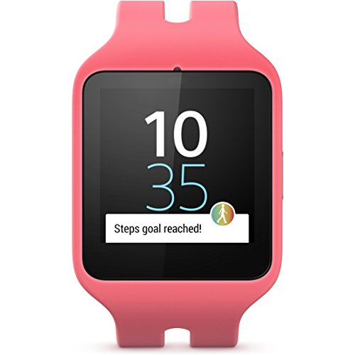 Sony Mobile Smartwatch 3 Activity Tracker mit lifelog – Pink