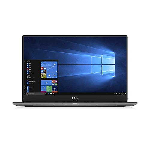 Dell XPS 15 7590 Laptop: Core i7-9750H, 256GB SSD, 8GB RAM, 15.6'' Full HD IPS 500-nits Display, NVidia GTX 1650, Backlit Keyboard, Silver